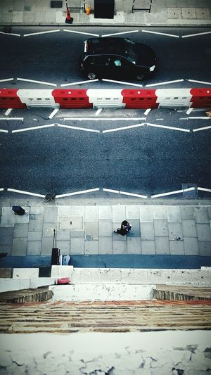 This Is Perspective day 16. Looking Down World Below City Life City Street Road Road Markings Pedestrians