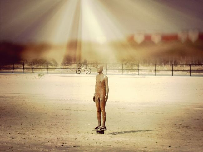 Another Place By Anthony Gormley Crosby Beachphotography Light