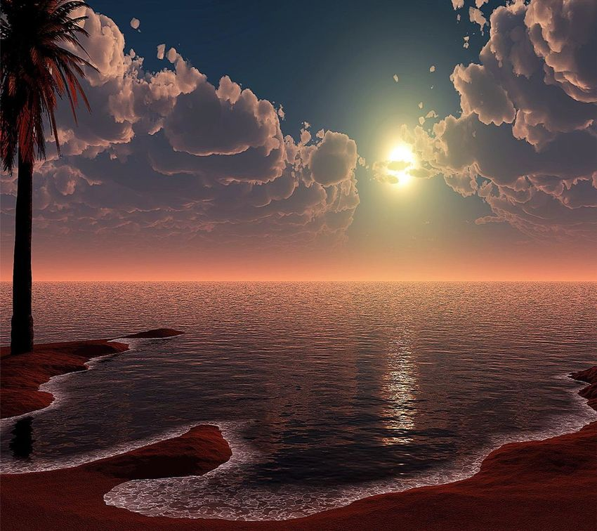 a beautiful sunset.....