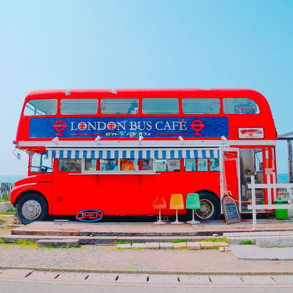 London bus cafe Londonbus Cafe Cute 糸島 糸島カフェ 可愛い Happy Spring Colorful Enjoying Life Taking Photos