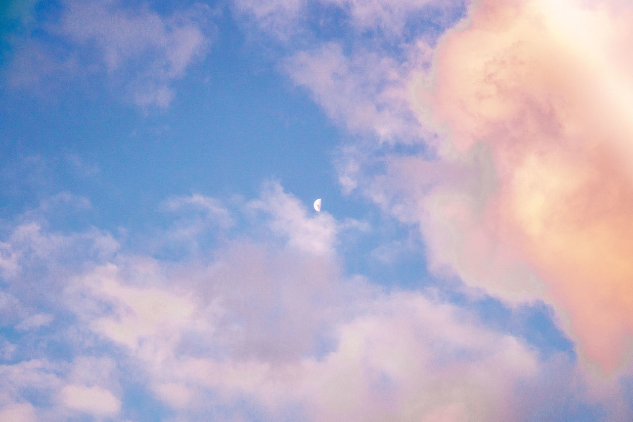 Fluffy popsical Backgrounds Beauty In Nature Cloud - Sky Cloudscape Day Heaven Nature No People Outdoors Scenics Sky Sky Only Tranquility First Eyeem Photo
