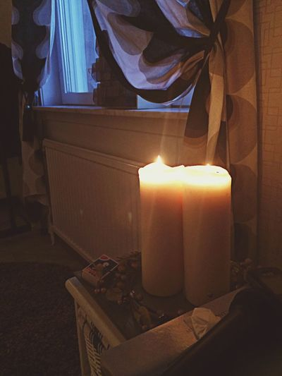 Cozy Alone Summer Is Over Candles