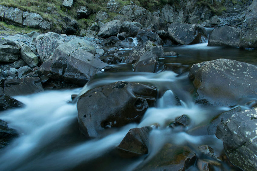 Water Long Exposure Nature Outdoors Scenics Waterfall Landscape Rock - Object Beauty In Nature Motion