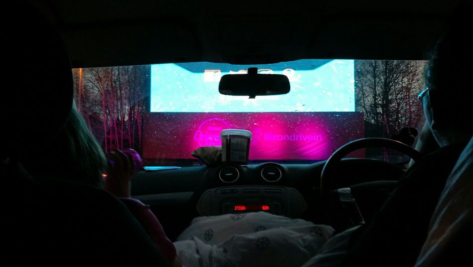 Vehicle Interior Car Transportation Car Interior Windshield Dark Steering Wheel Vehicle Seat Driving Point Of View Dashboard Technology Indoors  People Night Drive In Movies MOVIE Drive