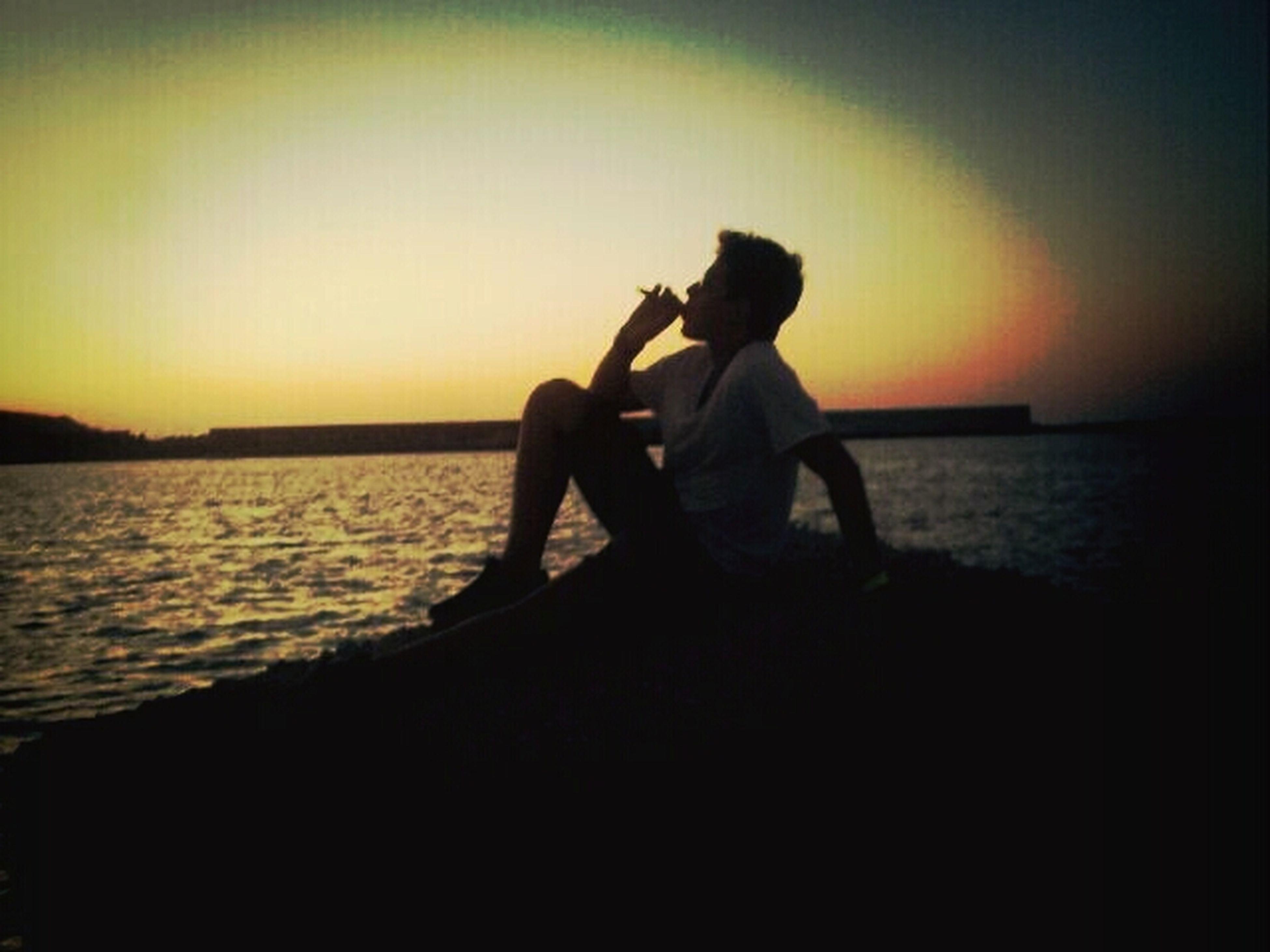 tramonto siciliano