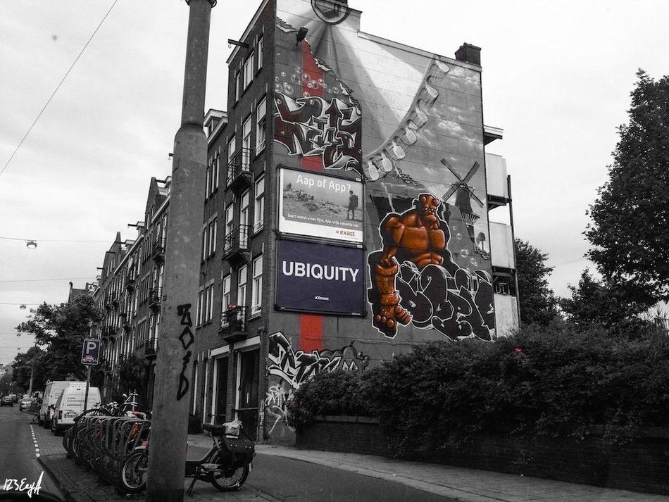 Amsterdam Oost Ubiquitous Streetphotography Streetart Graffiti Street Art/Graffiti