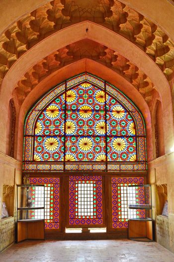Glass Art in Karim khan Castle in Shiraz, Iran . Achitecture Travel Photography Light And Shadow Light Colorful Hello World Old Buildings