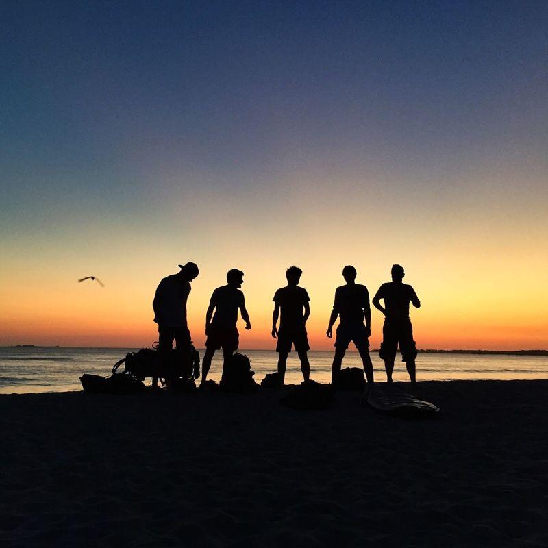 Sunset team Sunset Beach Team Shadow