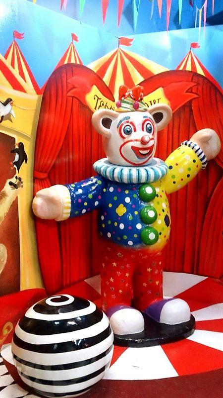 Teddybearmuseum Teddy Bear Circus Clown