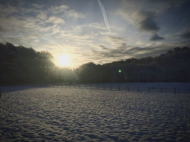Peace is found anywhere in the lakes ... But the snow makes it even more peaceful. The Lake District  Grassmere Peace And Quiet Snow Sunrise Nature