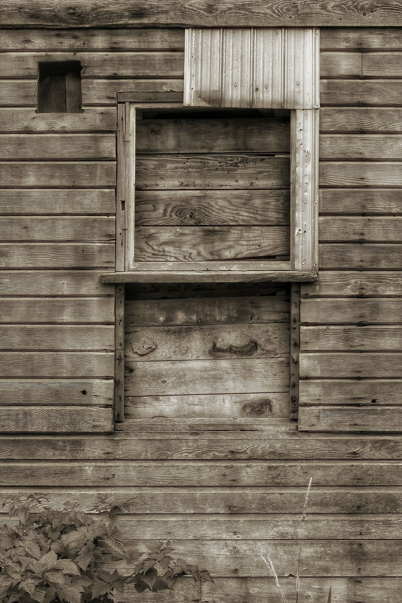 ramshackle Woodenstructure Wood Rustic Patina Sepia 1900s