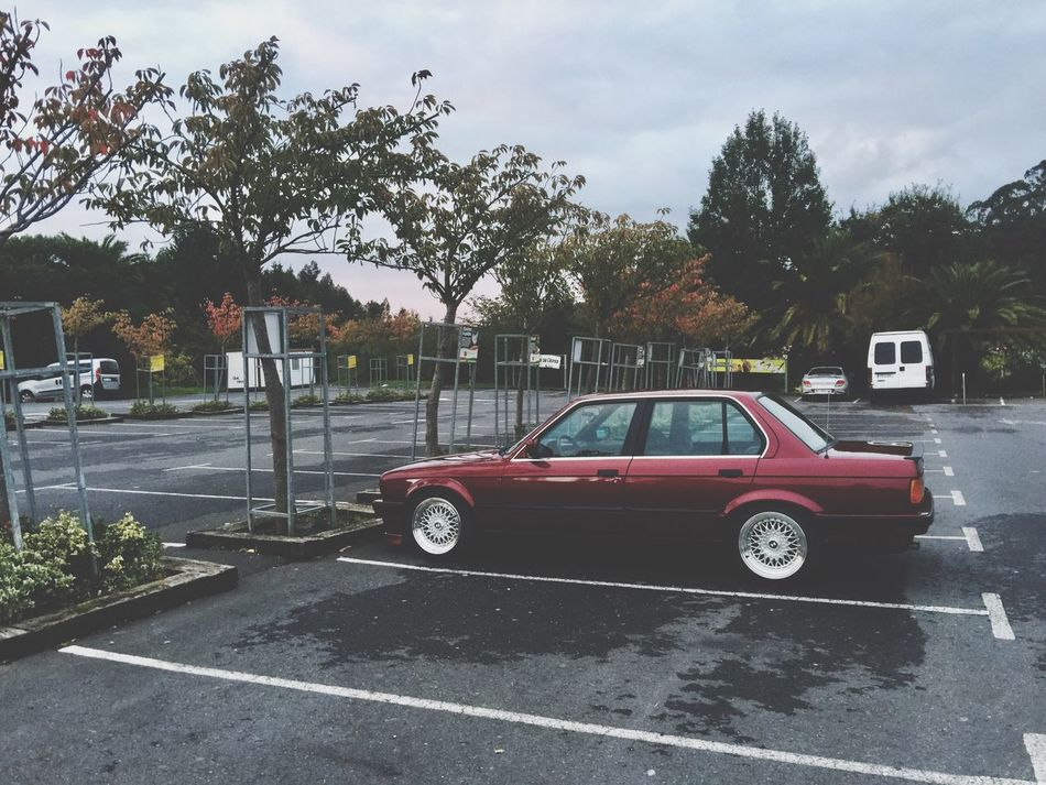 Car Transportation Tree Land Vehicle Outdoors No People Sky Day Bmw BMW E30 Bmw E30 M3 E30_lovers E30 Love