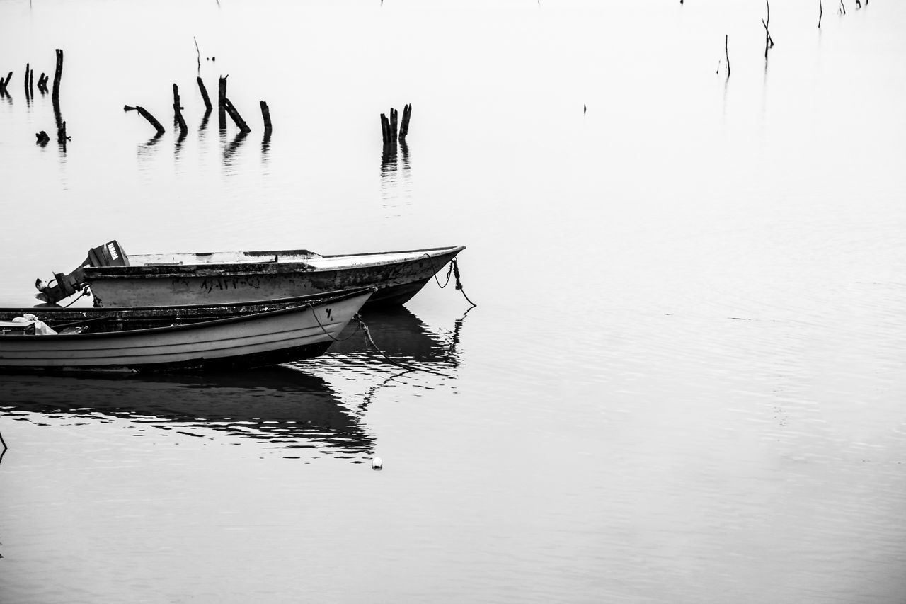 its a day i never forgot. everything silence with birds and no wave on the sea still cleaner than now. Black & White Black And White Boats⛵️ Caspian (درياي خزر) Caspian Sea Gorgan, Iran Iran Minimalism My Year My View Sea EyeEmNewHere
