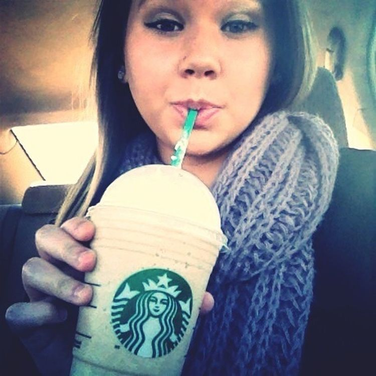 Starbucks,yum.