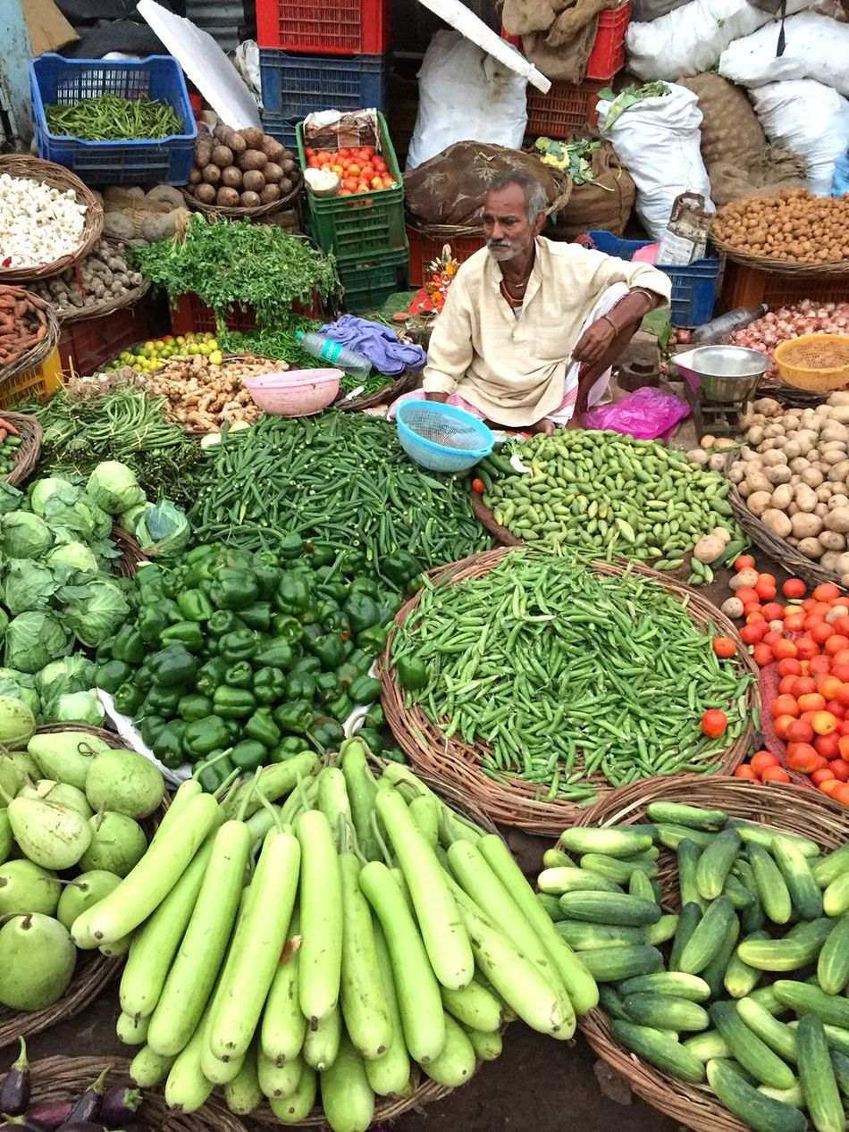 Going To Market Marketplace Vegetable Market Food Freshness Selling Market Vendor Market Stall Food And Drink Retail  Choice One Person Adults Only Healthy Eating Customer  Outdoors Adult Occupation People Day