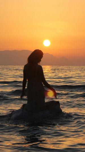 Relaxing Sea Enjoying The Sun Hello World Enjoying The Sunset Sunset Life Is A Beach Kadınlar Denizi Kusadasi Being A Beach Bum