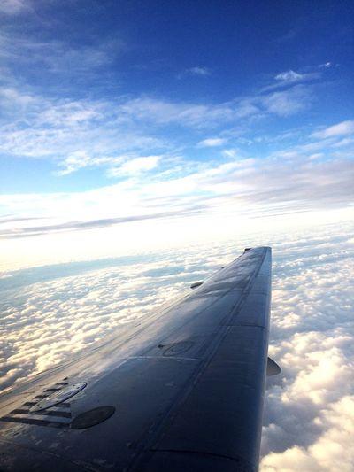 This was taken when I was on my flight first eyeem photo