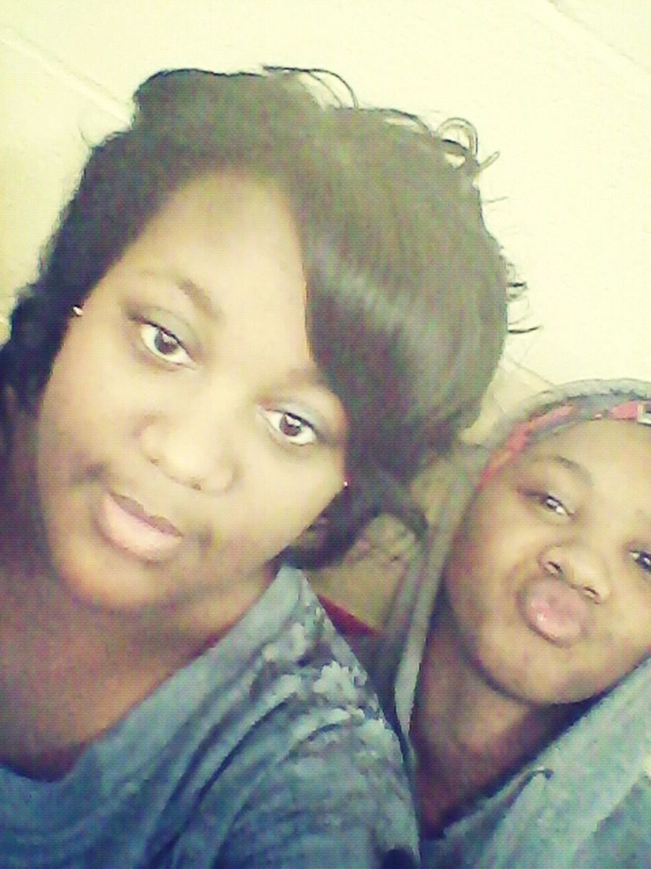 Me And Lil Cousin Acting Silly