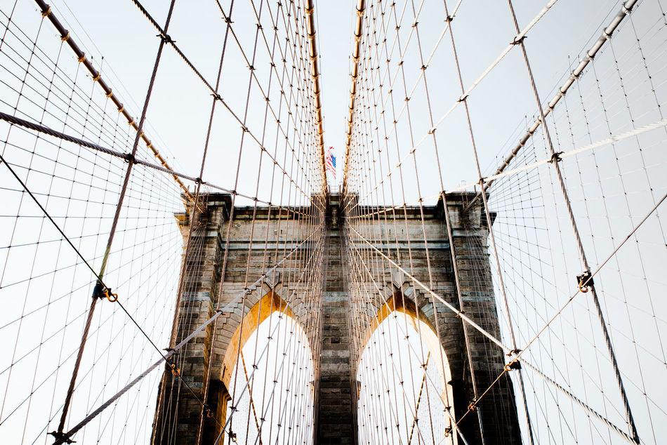 Beautiful stock photos of architektur, Architecture, Bridge - Man Made Structure, Brooklyn, Brooklyn Bridge