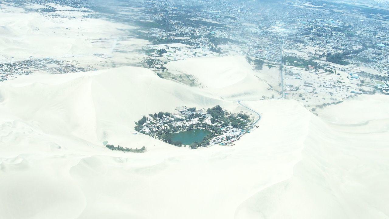 砂漠のオアシス ワカチナ湖