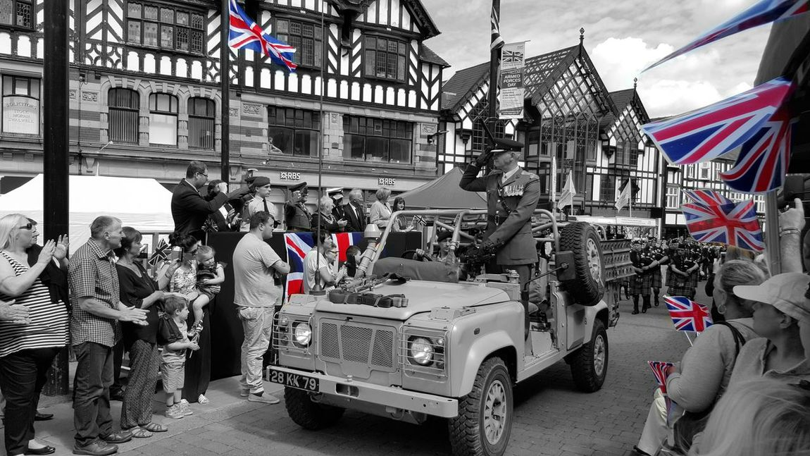 Armed forces day The Street Photographer - 2015 EyeEm Awards Military ♥ Colour Splash