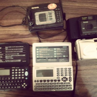 Tech Relics from a time not too long ago