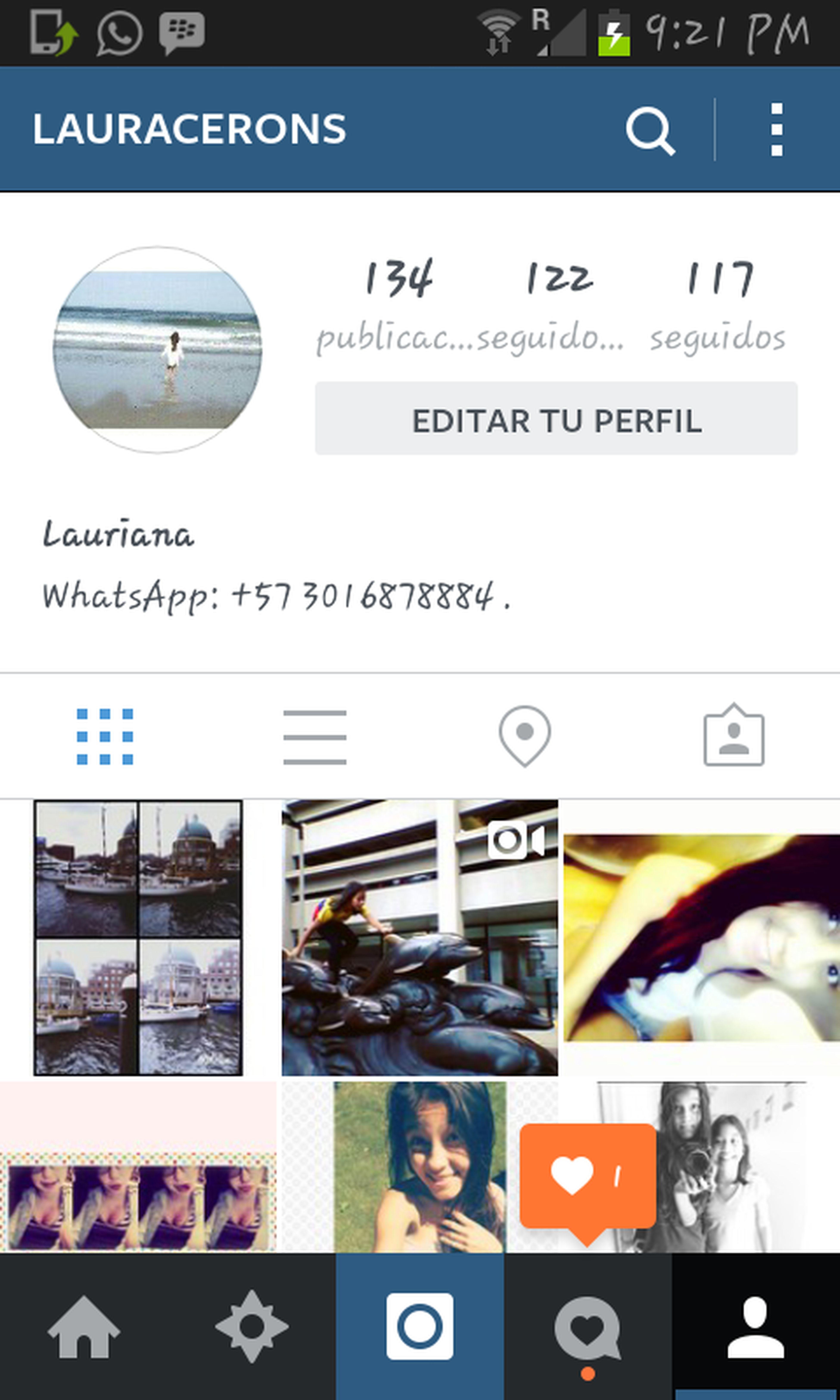INSTAGRAM(? Hi! Instagram Fllowme