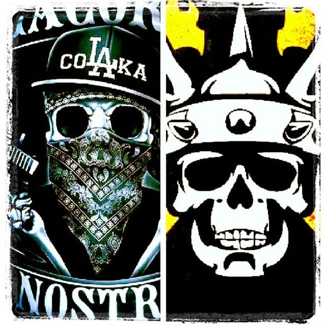 Some of the best matches in life are not made in heaven...both crews through music have helped me appreciate my past and show me there is no limit to what can be accomplished in the future. @slainesworld @madchildbaxwar Baxwar Lacokanostra Music Lawnmowerman bostonproject supremevillan mastersofthedarkarts
