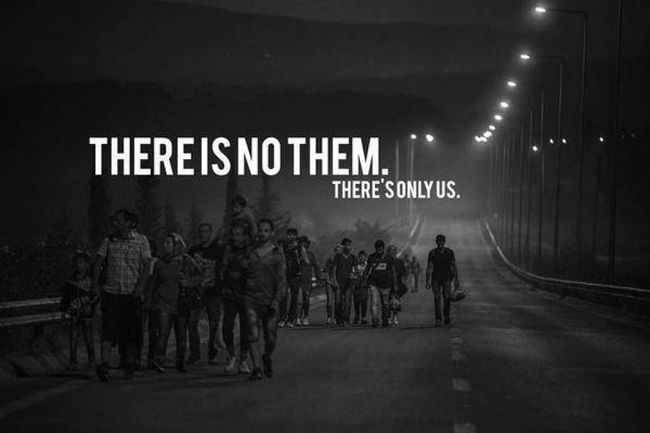 Refugeeswelcome Banksy https://www.facebook.com/permalink.php?story_fbid=431807627014983&id=217252245137190&substory_index=0 Not My Pic
