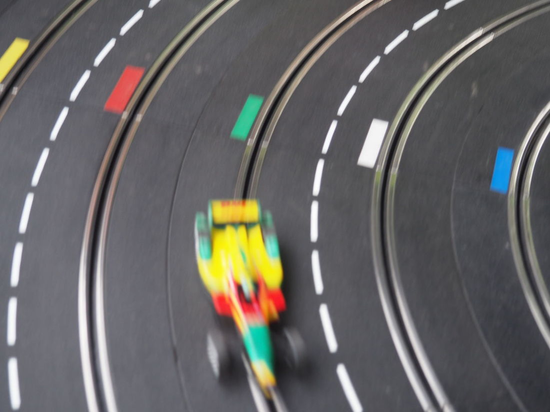 Cars Childhood Close-up Competition Electric Cars F1 Fast Faster Formula E Formula One Formula One Racing Fun Game Motion Blur Racing Racing Car Railing Retro Future Speed Sports Race Sports Track