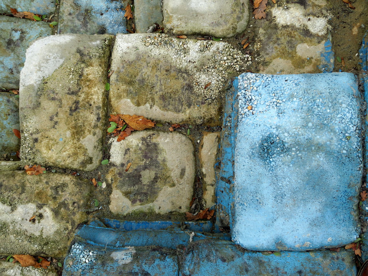 Sandbags, in concrete Abandoned Abstract Abstractions In Colors Architecture Blue Squares In Pattern Built Structure Close-up Coloursplash Concrete Concrete Texture Concrete Wall Day No People Outdoors Pattern Patterns Patterns & Textures Patterns In Nature Rectangle Sandbags Structure And Nature Structures & Lines Taxture Water Wall