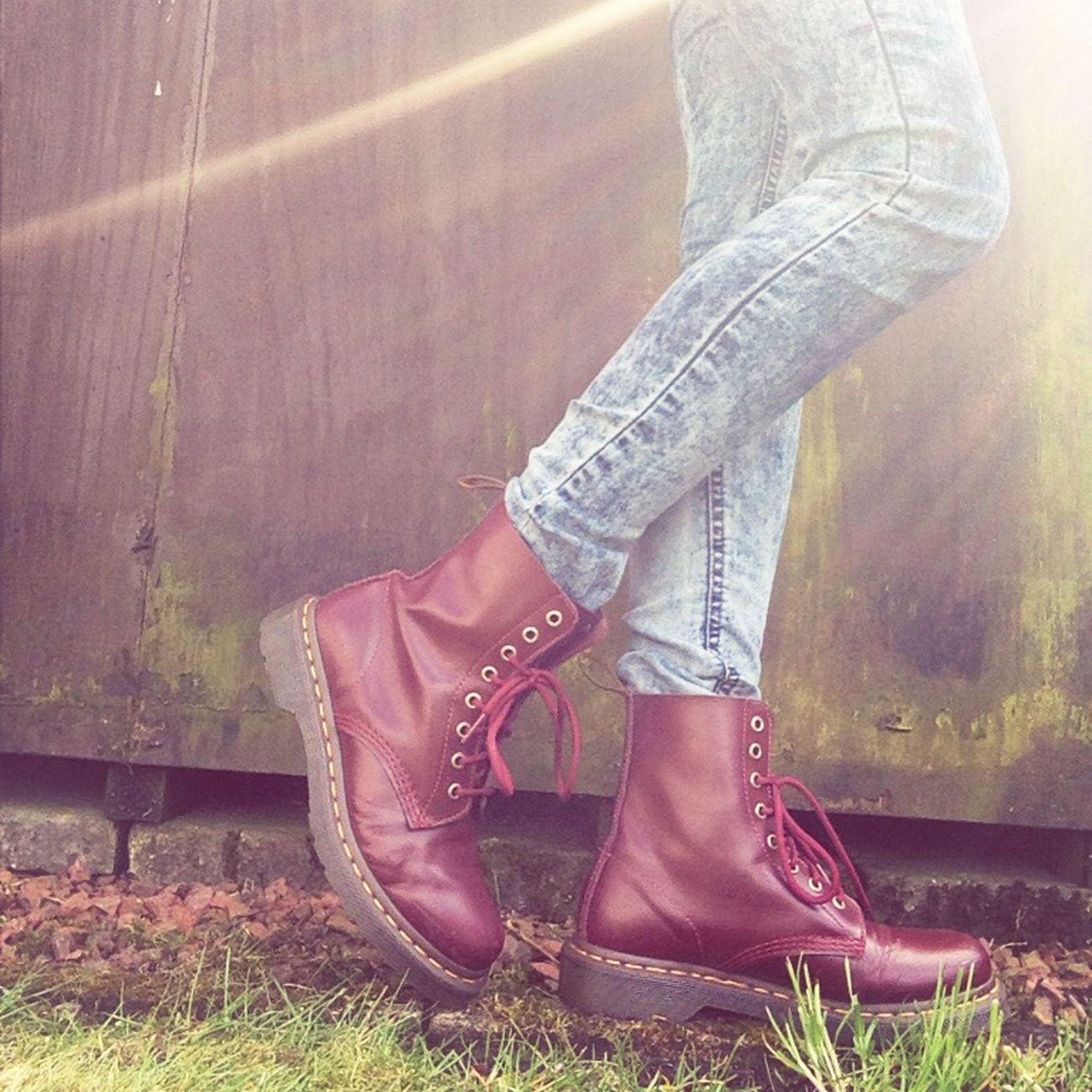 Loove my docs? Drmartens Outside Cherryred