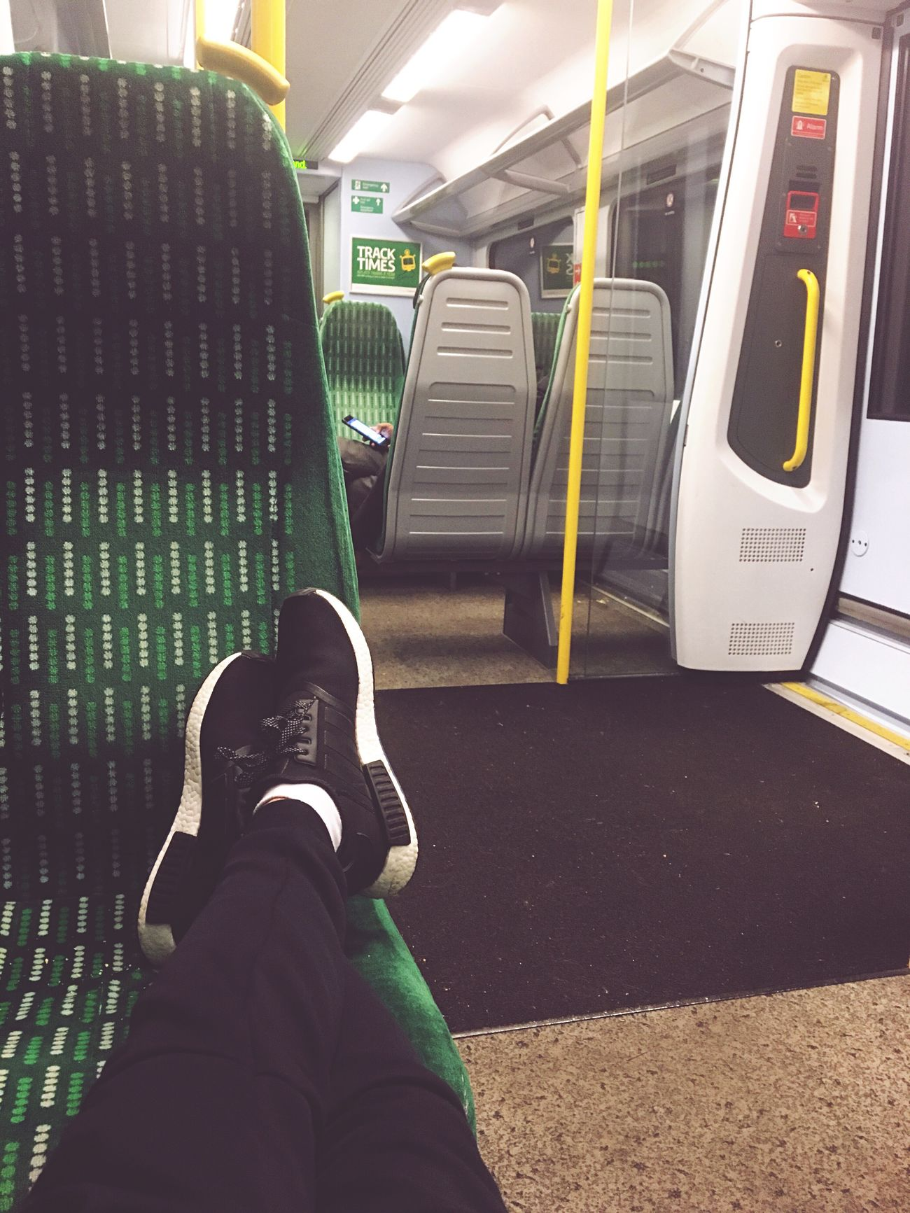 Londonmidland Train Station LondonTransport Addidas Yeezy Outfit