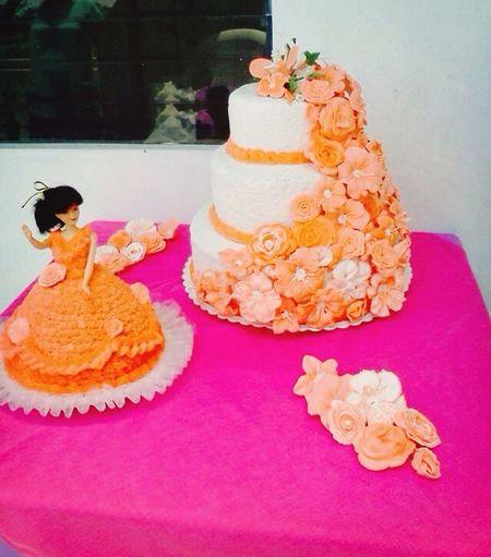 Quinceñera Birthday Cake Icing Yum