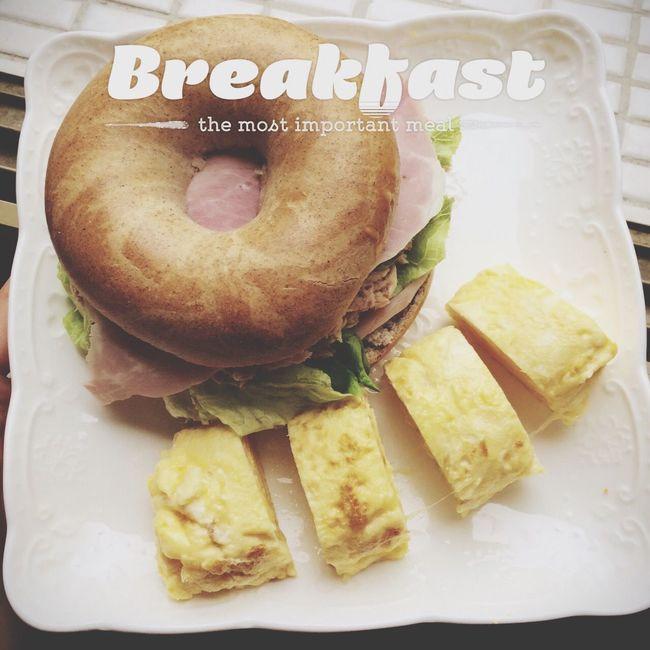 Breakfast Good Morning Enjoying A Meal