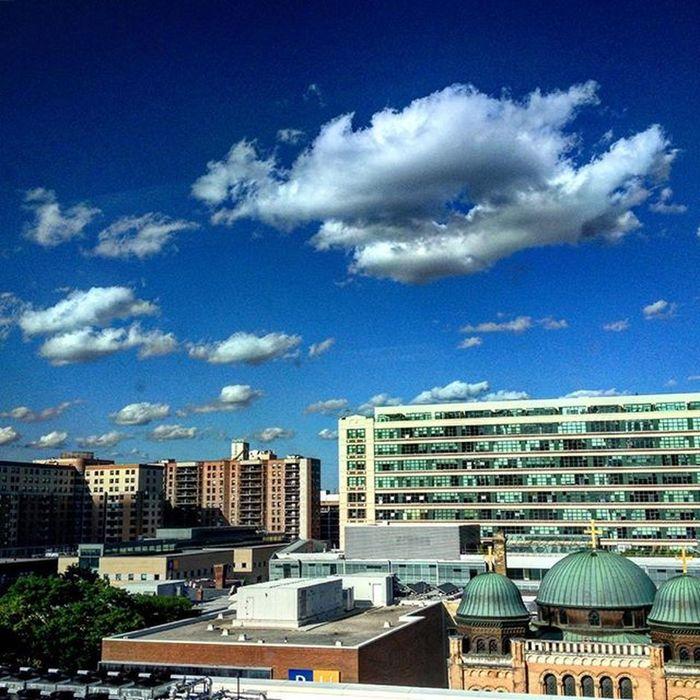 Rooftop Clouds Ryersonuniversity Sun Cloudporn Buildings Architecture Glare Quicksnap Thesix The6ix Toronto Downtowntoronto Imagesoftoronto Hypeoftoronto Viewsfromthesix Toronto_insta YYZ Tdot