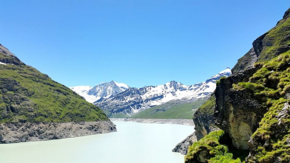 Barrage Lac Des Dix Mountain Snowandsun