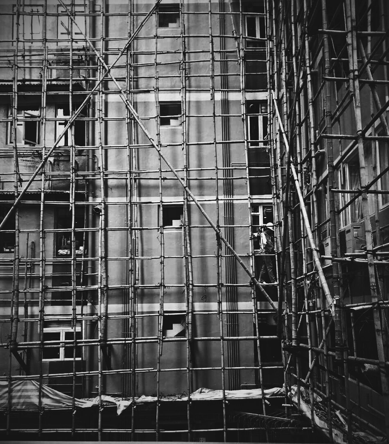 Urban Geometry Walk This Way Streetphoto Streetphotography Black And White Bwstreetphotography Snap Everywhere Hong Kong Discoverhongkong ASIA