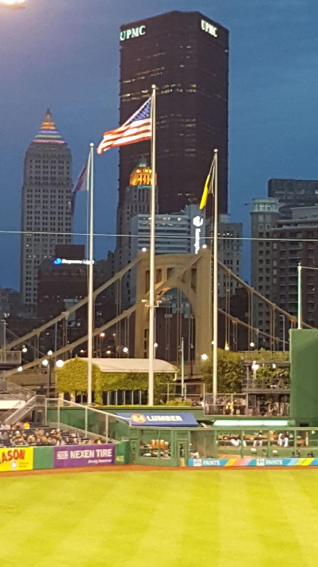 Pirates vs. Braves - PNC Park - Pittsburgh, PA - May 16, 2016 Pittsburgh Pirates Pittsburgh Life Pittsburgh PNC Park Baseball Downtown Pittsburgh