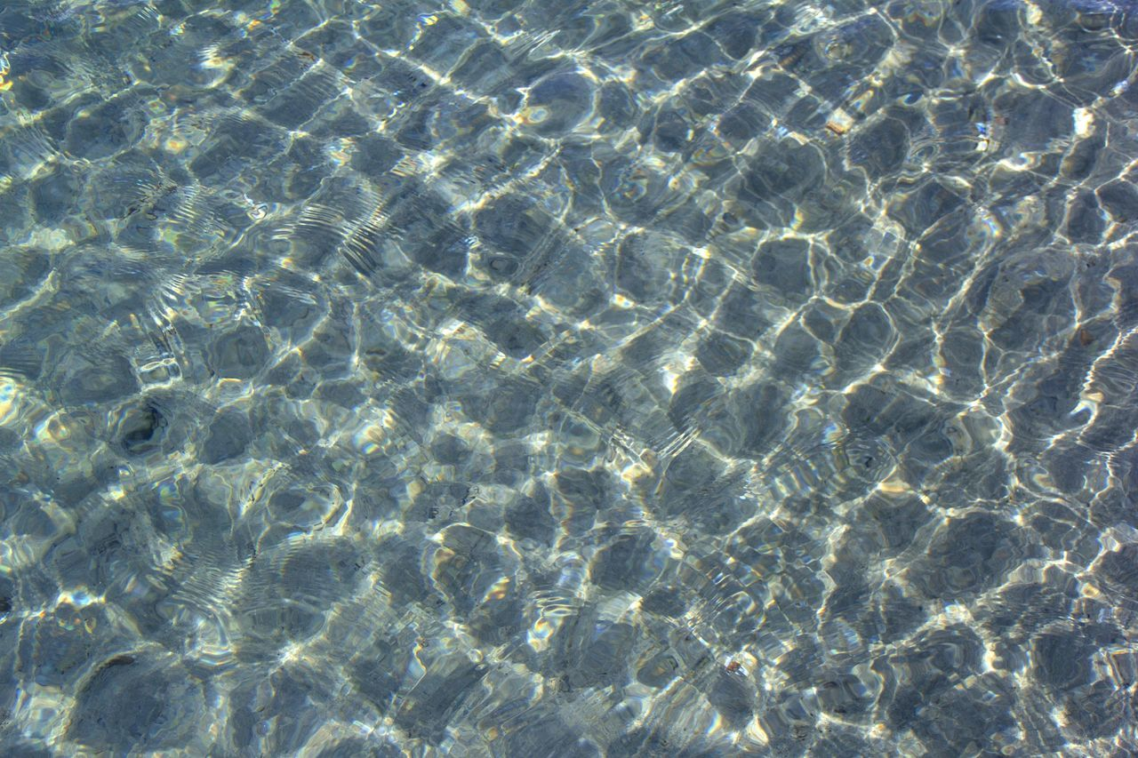 Backgrounds Full Frame Pattern High Angle View Water Refraction Day Outdoors Abstract Pura Vida ✌ Costa Rica Travel Beach Day Clear Water Textured  No People Pacific Ocean Beach