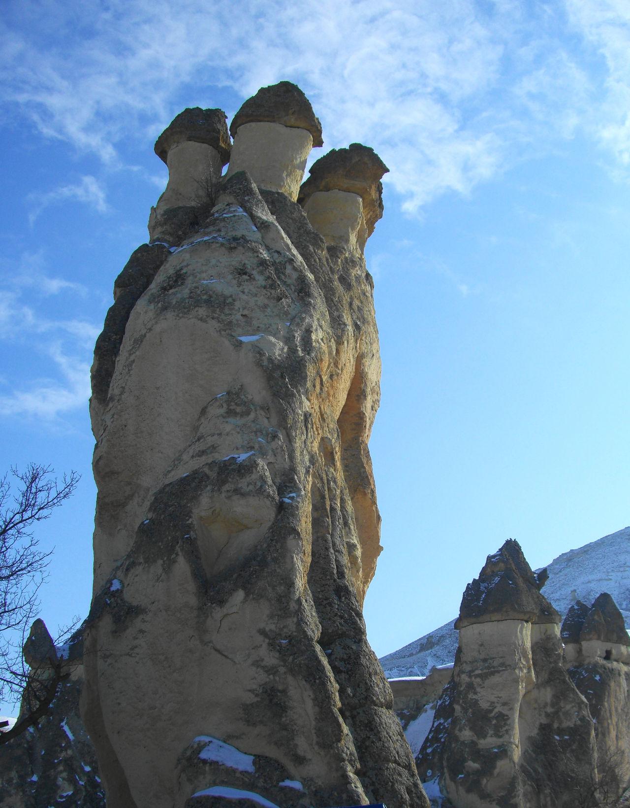 Moshroom Mountain Nature Outdoors Rock Sky Turkey きのこ岩 トルコ 2006