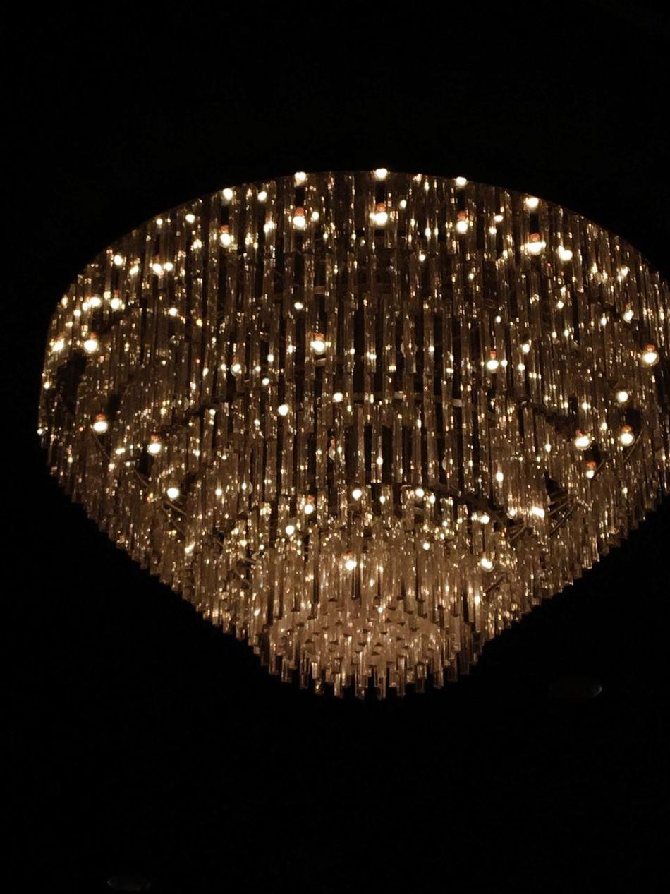 Chandelier Light Light Source Illuminated Studio Shot Electricity  Black Background Lighting Equipment Close-up No People Single Object Night Indoors  Filament Crystal Light Fixture