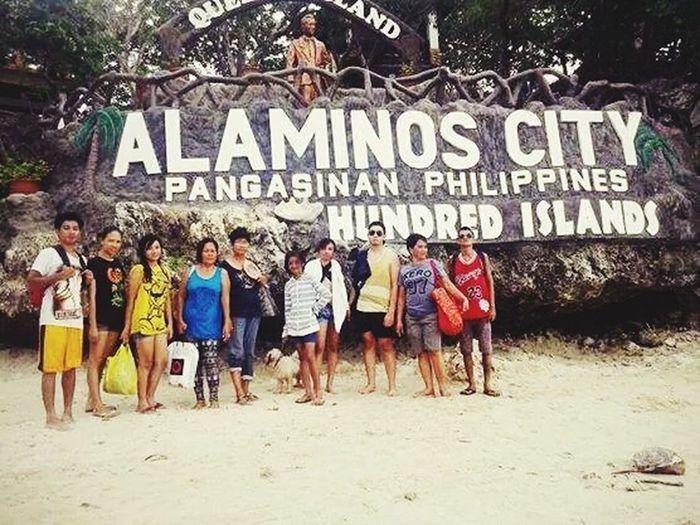 Thu row back Alaminos Pangasinan Hundred Islands Quezon Island