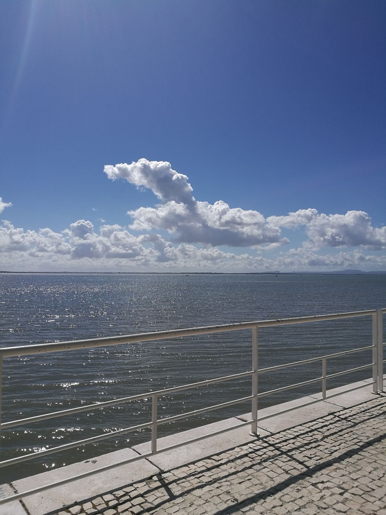 Sea Water Sky Outdoors Nature Day No People Cloud - Sky Horizon Over Water Blue