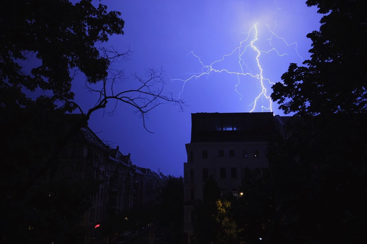 Beautiful stock photos of lightning, Berlin, Building Exterior, Dramatic Sky, Germany