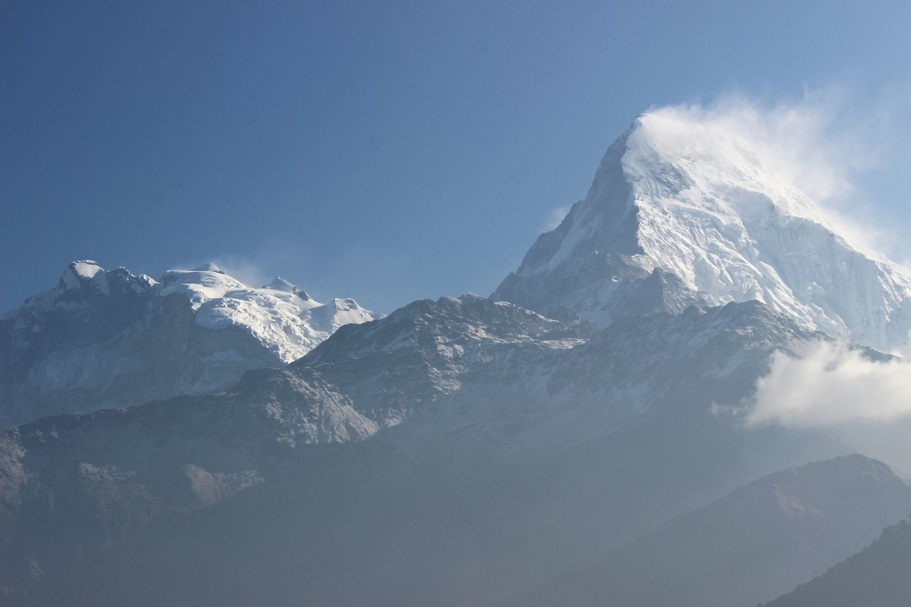 Beautiful stock photos of annapurna,  Beauty In Nature,  Blue,  Cold Temperature,  Day