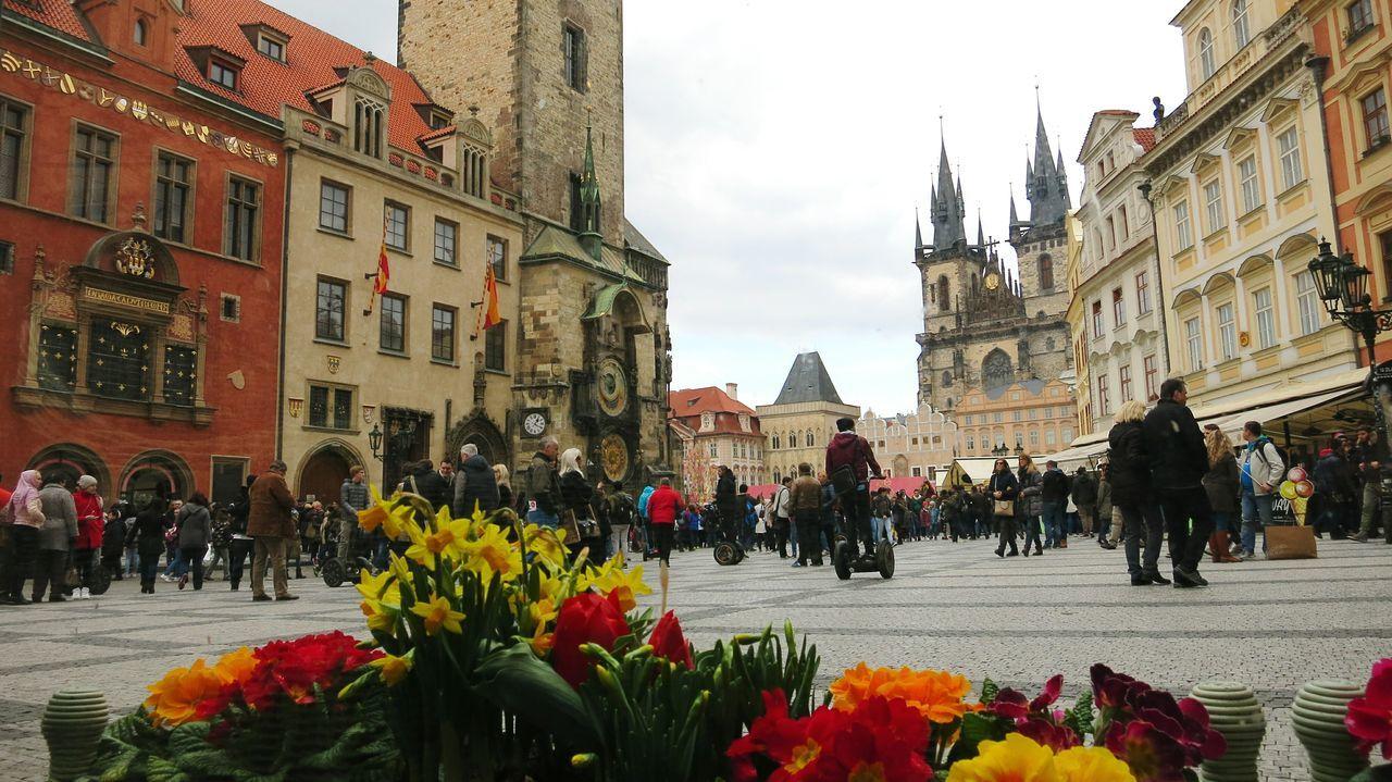 Praha Prague Staroměstské Náměstí Czech Republic Travel Travel Photography Traveling Square Прага чехия староместская площадь путешествие фото из путешествий площадь цветы достопримечательность туризм Sightseeing Tourism