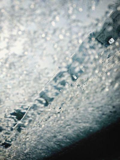 Icey window