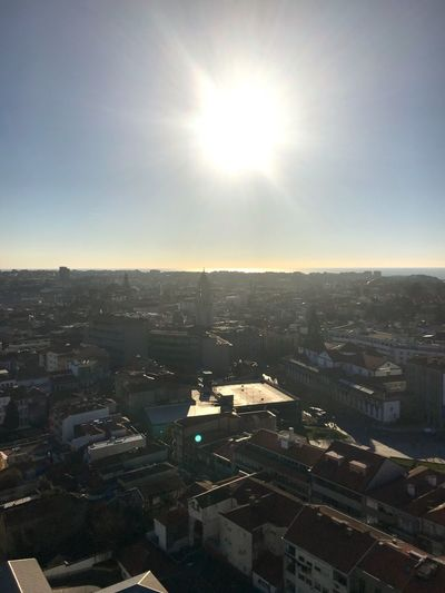 Hello from the most beautiful city in the world... Cityscape Portugal Porto Building Exterior Architecture Built Structure Sunlight No People Sun Cityscape