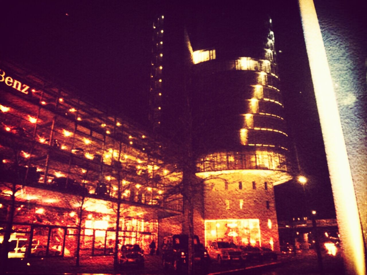 illuminated, architecture, night, built structure, building exterior, travel destinations, no people, city, outdoors, sky